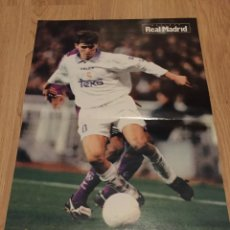 Coleccionismo deportivo: POSTER REVISTA REAL MADRID 1997 1998 97 98 SAVIO. Lote 274525283