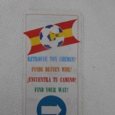 Coleccionismo deportivo: MUNDIAL DE FUTBOL ESPAÑA 82. ENCUENTRA TU CAMINO. EN VARIOS IDIOMAS. FOLLETO RELIGIOSO DEL MUNDIAL D. Lote 274598578