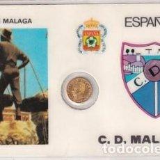 Collectionnisme sportif: MONEDA OFICIAL CONMEMORATIVA MUNDIAL FÚTBOL ESPAÑA 82 ESTADIO LA ROSALEDA. MÁLAGA. Lote 276673353