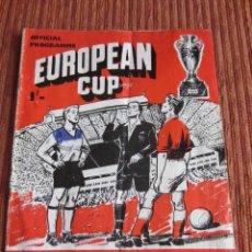 Coleccionismo deportivo: 1960-PROGRAMA OFICIAL ORIGINAL PARTIDO FÚTBOL.EINTRACHT FRANKFURT-REAL MADRID. 5ª COPA DE EUROPA. Lote 276929133