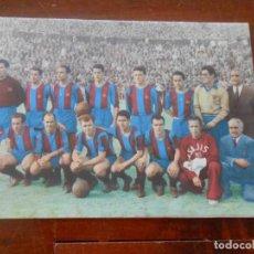 Coleccionismo deportivo: REVISTA ORIGINAL FUTBOL CLUB BARCELONA AÑO 1953 PASAPORTE A LA FAMA KUBALA BATANGA. Lote 277135168