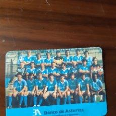 Coleccionismo deportivo: PUBLICIDAD BANCO DE ASTURIAS REAL OVIEDO 1989. Lote 277277798