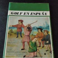 Coleccionismo deportivo: GOLF EN ESPAÑA. Lote 277423023