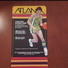 Coleccionismo deportivo: TARJETA SIN USO ACCESO FIESTAS ALL STAR ATLANTA 2003. Lote 277544303