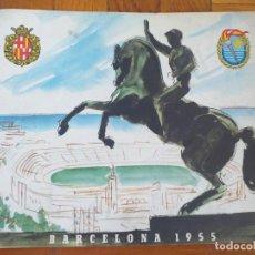 Coleccionismo deportivo: ANTIGUO PROGRAMA BARCELONA 1955 II JUEGOS MEDITERRANEOS - 16 PÁG. EN BUEN ESTADO. Lote 277607933