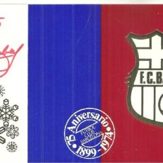 Coleccionismo deportivo: 4263.- FUTBOL CLUB BARCELONA-NADALA 75 ANIVERSARI DEL CLUB - ANY 1974. Lote 278690808