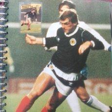 Coleccionismo deportivo: FICHA DE LAS SUPER ESTRELLAS DE MASTERFILE - EDICION INGLESA - CON SELLO KENNY DALGLISH ESCOCIA. Lote 280043758