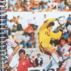 Coleccionismo deportivo: FICHA DE LAS SUPER ESTRELLAS DE MASTERFILE - EDICION INGLESA - RINAT DASAYEV RUSIA. Lote 280065748