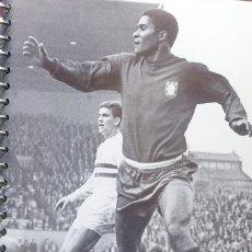 Coleccionismo deportivo: FICHA DE LAS SUPER ESTRELLAS DE MASTERFILE - EDICION INGLESA - FERREIRA DA SILVA EUSEBIO PORTUGAL. Lote 280080863