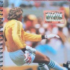 Coleccionismo deportivo: FICHA DE LAS SUPER ESTRELLAS DE MASTERFILE - EDICION INGLESA - CON SELLO PATT JENNINGS GALES. Lote 280104218