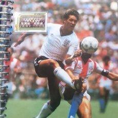 Coleccionismo deportivo: FICHA DE LAS SUPER ESTRELLAS DE MASTERFILE - EDICION INGLESA - CON SELLO GARY LINEKER INGLATERRA. Lote 280104593