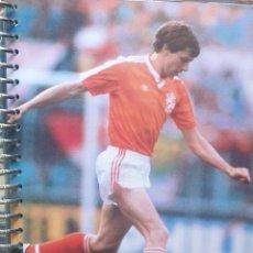 Coleccionismo deportivo: FICHA DE LAS SUPER ESTRELLAS DE MASTERFILE - EDICION INGLESA - ARNOLD MUHREN HOLANDA. Lote 280105413