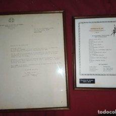 Coleccionismo deportivo: ASOCIACION NACIONAL PREPARADORES BALONCESTO CARTA LUIS FERNÁNDEZ ÁBALOS 1975 PEDRO FERRÁNDIZ GONZALE. Lote 287390388