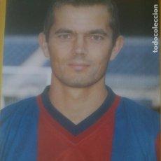 Coleccionismo deportivo: POSTAL PORTARETRATOS, COCU,CAMPEON DE LIGA 98-99. FUTBOL CLUB BARCELONA. SPORT Y AGFA. Lote 288574483