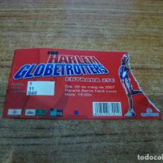 Coleccionismo deportivo: ENTRADA BASKET HARLEM GLOBETROTTERS LLEIDA 2007. Lote 293989378