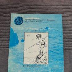 Coleccionismo deportivo: DOCUMENTO DE LA CMAS SUBACUÁTICAS BUCEO 1974 6 PÁGINAS. Lote 293994883