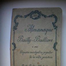 Enciclopedias antiguas: ALMANAQUE BAILLY-BAILLIERE 1935. Lote 26448172