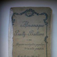 Enciclopedias antiguas: ALMANAQUE BAILLY-BAILLIERE 1936. Lote 26864121