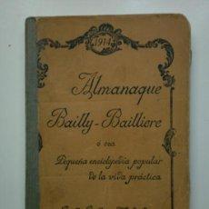Enciclopedias antiguas: - ENCICLOPEDIA POPULAR - ALMANAQUE BAILLY - 1914. Lote 26500759