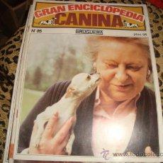Enciclopedias antiguas: GRAN ENCICLOPEDIA CANINA , BRUGUERA, NUMERO 85. Lote 22555670