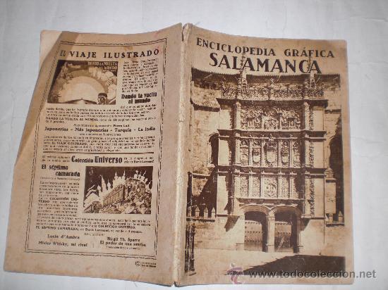 ENCICLOPEDIA GRÁFICA SALAMANCA. EDITORIAL CERVANTES, 1931 RM34492 (Libros Antiguos, Raros y Curiosos - Enciclopedias)