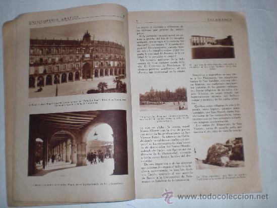 Enciclopedias antiguas: Enciclopedia Gráfica Salamanca. Editorial Cervantes, 1931 RM34492 - Foto 4 - 27955290