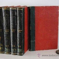 Enciclopedias antiguas: 1842.- BIBLIOFILIA. ENCICLOPEDIA ESPAÑOLA DEL SIGLO DIEZ Y NUEVE, O BIBLIOTECA COMPLETA DE CIENCIAS,. Lote 28633717