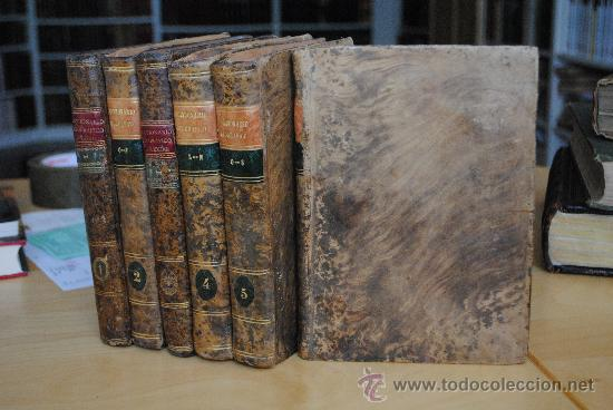 1806.- DICCIONARIO GEOGRAFICO UNIVERSAL DE ANTONIO VEGAS. PRECIOSA ENCUADERNACIÓN. (Libros Antiguos, Raros y Curiosos - Enciclopedias)
