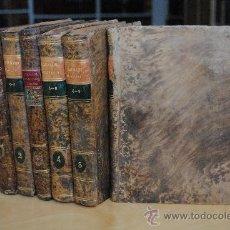 Enciclopedias antiguas: 1806.- DICCIONARIO GEOGRAFICO UNIVERSAL DE ANTONIO VEGAS. PRECIOSA ENCUADERNACIÓN.. Lote 28633818