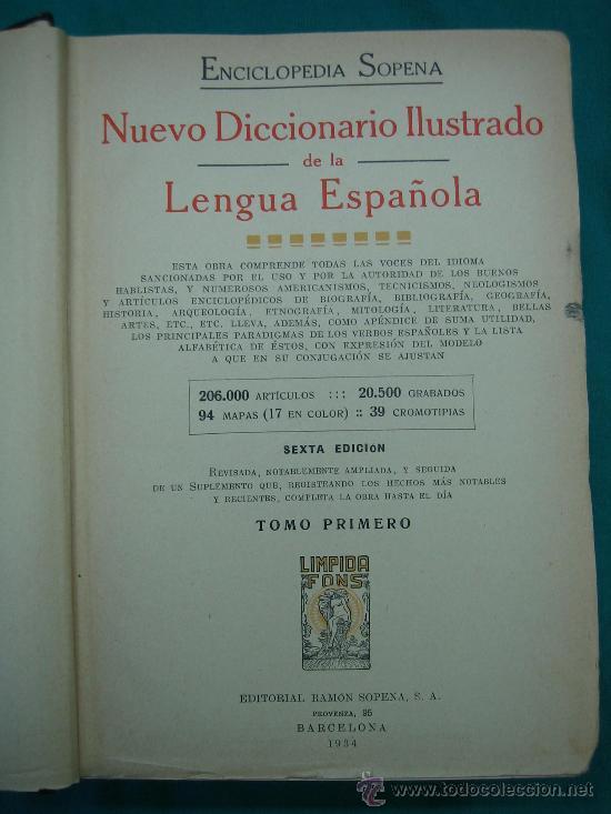Enciclopedias antiguas: Enciclopedia SOPENA año 1934 - Foto 4 - 79613674