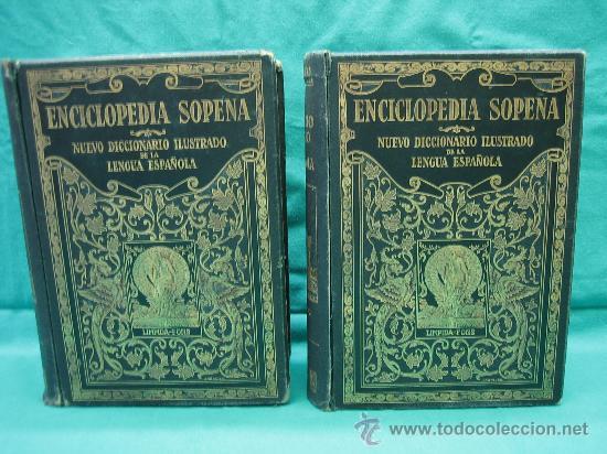 ENCICLOPEDIA SOPENA AÑO 1934 (Libros Antiguos, Raros y Curiosos - Enciclopedias)
