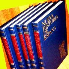 Enciclopedias antiguas: 5 VOLUMENES. HISTORIA DE ESPAÑA. COMO NUEVOS. ILUSTRADA. ENVIO EN 8 EUROS. Lote 28550579