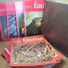 Enciclopedias antiguas: 44 ENTREGAS FASCICULOS - ENCICLOPEDIA FAUNA SALVAT 1975 FELIZ RODRIGUEZ DE LA FUENTE +REGALOTAPAS. Lote 32081154