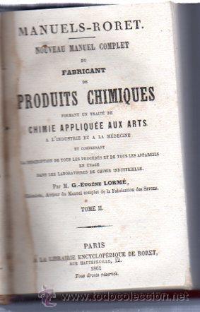 Enciclopedias antiguas: ENCICLOPEDIE RORET, COLLECTION DES MANUELS RORET, SCIENCES ET ARTS, 18, PARÍS, 1843 - 1875 - Foto 22 - 32077844