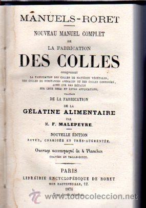 Enciclopedias antiguas: ENCICLOPEDIE RORET, COLLECTION DES MANUELS RORET, SCIENCES ET ARTS, 18, PARÍS, 1843 - 1875 - Foto 18 - 32077844