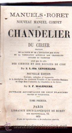 Enciclopedias antiguas: ENCICLOPEDIE RORET, COLLECTION DES MANUELS RORET, SCIENCES ET ARTS, 18, PARÍS, 1843 - 1875 - Foto 27 - 32077844