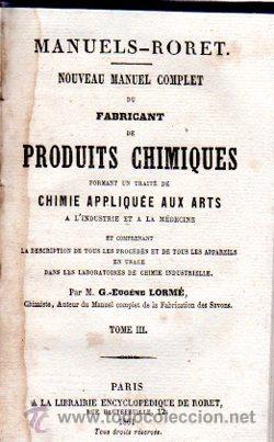 Enciclopedias antiguas: ENCICLOPEDIE RORET, COLLECTION DES MANUELS RORET, SCIENCES ET ARTS, 18, PARÍS, 1843 - 1875 - Foto 7 - 32077844