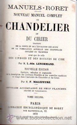 Enciclopedias antiguas: ENCICLOPEDIE RORET, COLLECTION DES MANUELS RORET, SCIENCES ET ARTS, 18, PARÍS, 1843 - 1875 - Foto 5 - 32077844
