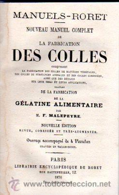 Enciclopedias antiguas: ENCICLOPEDIE RORET, COLLECTION DES MANUELS RORET, SCIENCES ET ARTS, 18, PARÍS, 1843 - 1875 - Foto 2 - 32077844