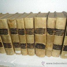 Enciclopedias antiguas: LIBRO,LOTE DE 9 VOLUMENES DE FINALES DE 1800-ENCICLOPEDIA HISPANO AMERICANA. Lote 32273308