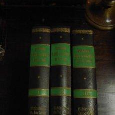 Enciclopedias antiguas: DICCIONARIO HISTORICO-GEOGRAFICO DEL PAIS VASCO, 3 TOMOS, GRAN ENCICLOPEDIA VASCA. Lote 32384989