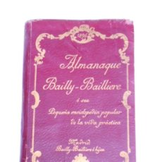 Livres anciens: ALMANAQUE BAILLY-BAILLIERE O PEQUEÑA ENCICLOPEDIA VIDA PRACTICA PARA 1896. Lote 34312806