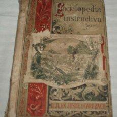 Enciclopedias antiguas: ENCICLOPEDIA INSTRUCTIVA CONOCIMIENTOS CIENTIFICOS-POPULARES AL ALCANCE DE LOS NIÑOS AÑO 1892. Lote 35480355