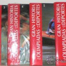Enciclopedias antiguas: GRAN HISTORIA DE LA OLIMPIADAS Y DE LOS DEPORTES (6 VOLS). Lote 35824378