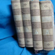 Enciclopedias antiguas: NOVÍSIMO DICCIONARIO DE LA LENGUA CASTELLANA - EDICIONES HYMSA - PRINCIPIO DEL SIGLO PASADO. Lote 37049795
