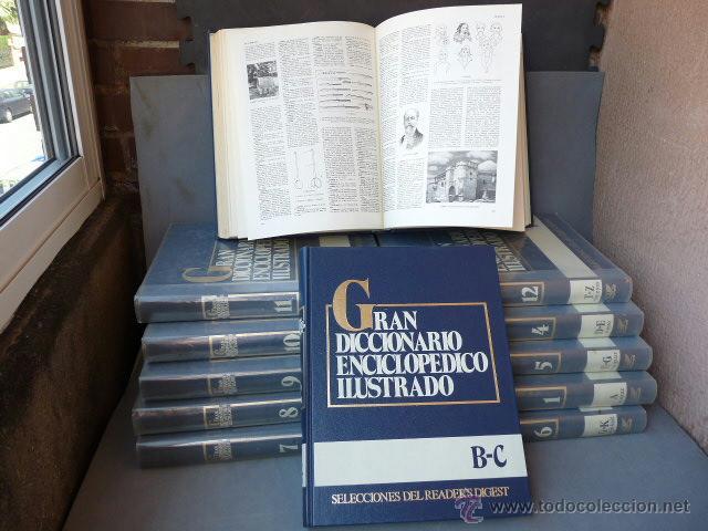GRAN DICCIONARIO ENCICLOPEDICO ILUSTRADO. (12 VOLUMENES) (Libros Antiguos, Raros y Curiosos - Enciclopedias)