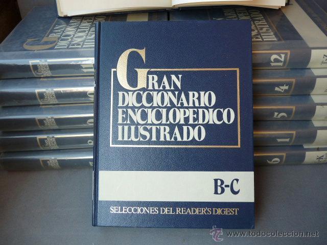 Enciclopedias antiguas: GRAN DICCIONARIO ENCICLOPEDICO ILUSTRADO. (12 VOLUMENES) - Foto 2 - 41634903