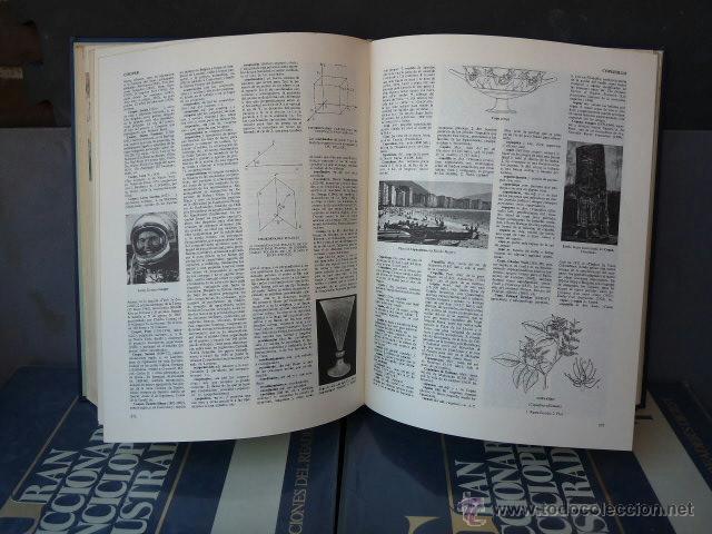 Enciclopedias antiguas: GRAN DICCIONARIO ENCICLOPEDICO ILUSTRADO. (12 VOLUMENES) - Foto 5 - 41634903