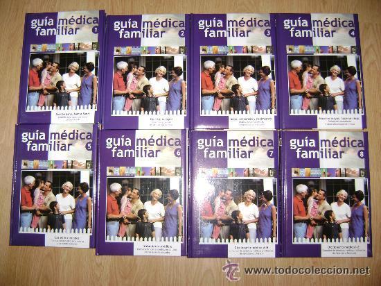 LIQUIDACION!!ENCICLOPEDIA AVANZADA. GUIA MEDICA FAMILIAR - 8 TOMOS COMPLETA - EDICIONES NAUTA 2004 (Libros Antiguos, Raros y Curiosos - Enciclopedias)