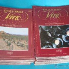 Enciclopedias antiguas: 90 FASCICULOS DE LA ENCICLOPEDIA DEL VINO COLECCION COMPLETA EDITORIAL ORBIS. Lote 43569392